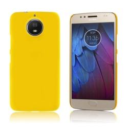 Motorola Moto G5S Enfärgat skal - Gul