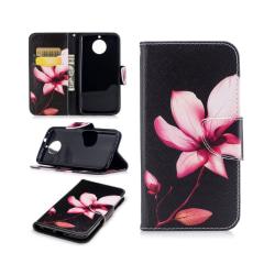 Motorola Moto G5S Fodral med modernt motiv - Stor blomma