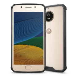 Motorola Moto G5S Genomskilnigt skal - Svart