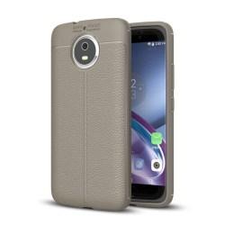 Motorola Moto G5S Modernt silikon skal - Grå