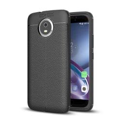 Motorola Moto G5S Modernt silikon skal - Svart