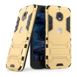 Motorola Moto G5S Snyggt hybrid skal - Guld