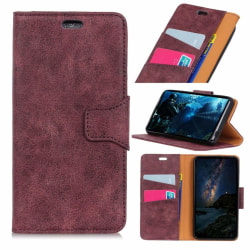 Motorola Moto G6 mobilfodral PU läder plånbok stående läge -