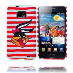 Mr. Bunny (Röd Rand) Samsung Galaxy S2 Skal