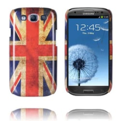 National Flag RETRO (UK Flag) Samsung Galaxy S3 Skal
