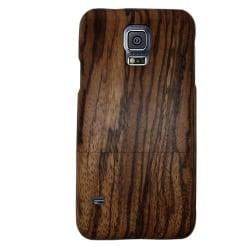 Natural (Brun) Samsung Galaxy S5 Äkta Träskal