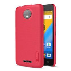 NILLKIN Motorola Moto C Modernt enfärgat skal - Röd