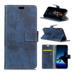 Nokia 3.1 mobilfodral syntetläder silikonmaterial plånbok st
