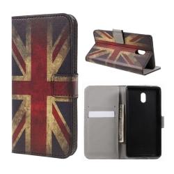 Nokia 3 Fodral med modernt motiv - UK flagga