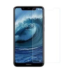 Nokia 5.1 skärmskydd härdat glas oleofobisk explosionssäker