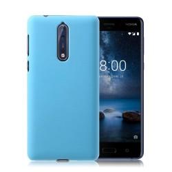 Nokia 8 Enfärgat fodral - Blå
