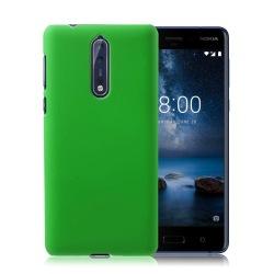 Nokia 8 Enfärgat fodral - Grön