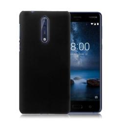 Nokia 8 Enfärgat fodral - Svart