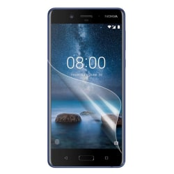 Nokia 8 Fem pack display film - Genomskilnigt