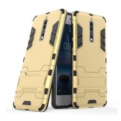 Nokia 8 Skal med kickstand funktion - Guld