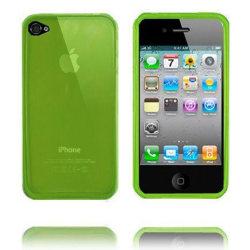 Nude (Ljusgrön) iPhone 4 / 4S Silikonskal