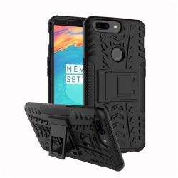 OnePlus 5T Hybird skal med kickstands funktion - Svart
