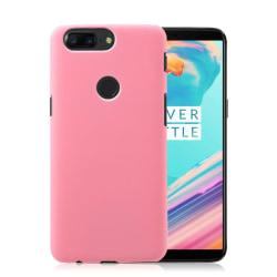 OnePlus 5T Modernt plast skal - Ljus rosa