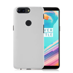 OnePlus 5T Modernt plast skal - Vit