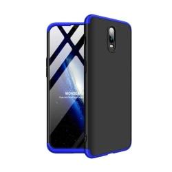 OnePlus 6T GKK 3 delat skyddande skal av hårt plast - Blå/ S