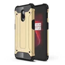 OnePlus 6T mobilskal av värmeavledande hybrid plast – Guld