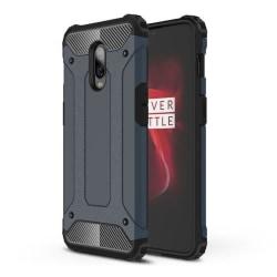 OnePlus 6T mobilskal av värmeavledande hybrid plast – Mörkbl