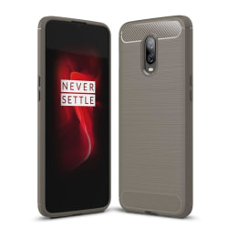 OnePlus 6T värmeavledande mobilskal av silikon med kolfiber