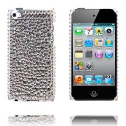 Paris (Grå) iPod Touch 4 Skal med Bling-Bling