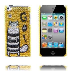 Paris (Guld - Go!) iPod Touch 4 Skal med Bling-Bling