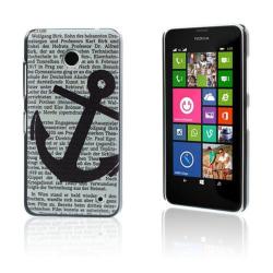 Persson Nokia Lumia 630/635 Skal - Ankare & Tidning