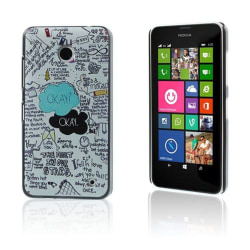 Persson Nokia Lumia 630/635 Skal - Citat The Fault In Our St
