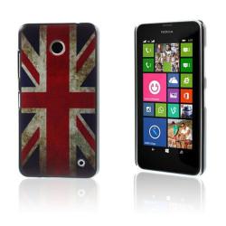 Persson Nokia Lumia 630/635 Skal - Retro Union Jack Flagga