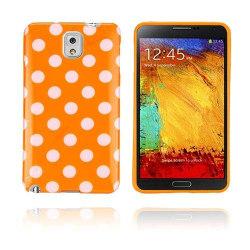 Polka Dots (Orange) Samsung Galaxy Note 3 Skal