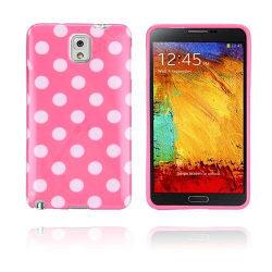 Polka Dots (Rosa) Samsung Galaxy Note 3 Skal