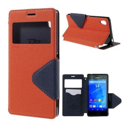 ROAR KOREA Sony Xperia M4 Aqua Fodral - Orange