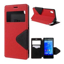 ROAR KOREA Sony Xperia M4 Aqua Fodral - Röd