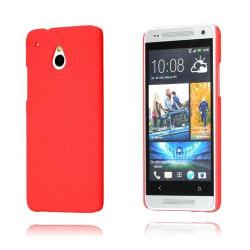 Rough (Röd) HTC One Mini Skal