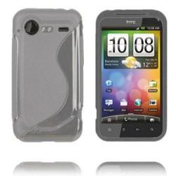 S-Line (Grå Transparent) HTC Incredible S Skal