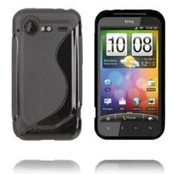 S-Line (Svart) HTC Incredible S Skal