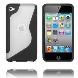 S-Line T4 (Svart) iPod Touch 4 Skal