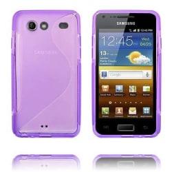 S-Line Transparent (Lila) Samsung Galaxy S Advance Skal