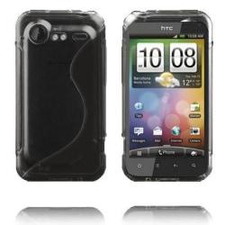 S-Line Transparent (Svart) HTC Incredible S Skal