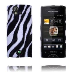 Safari Fashion (Diagonal Zebra) Sony Ericsson Xperia Ray Ska