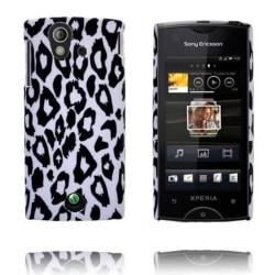 Safari Fashion (Vit Leopard) Sony Ericsson Xperia Ray Skal