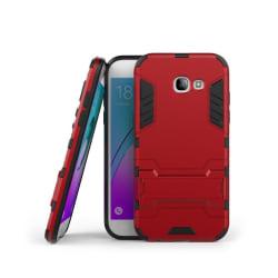 Samsung Galaxy A5 (2017) hybridskal med kickstand - Röd