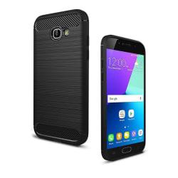 Samsung Galaxy A5 (2017) kolfiber silikonskal - Svart