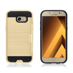 Samsung Galaxy A5 (2017) kortfack hybridskal - Guld