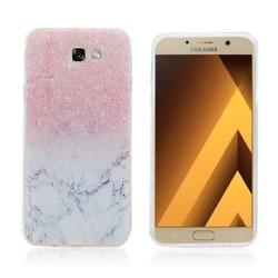 Samsung Galaxy A5 (2017) transparent silikonskal - Marmor