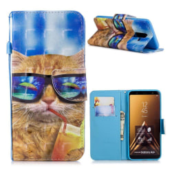 Samsung Galaxy A6 Plus (2018) mobilfodral syntetläder siliko