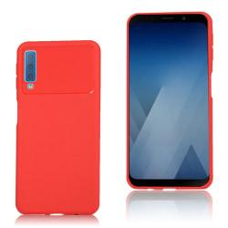 Samsung Galaxy A7 (2018) Mjukt flexibelt silikonplast mobils